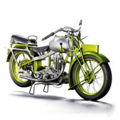 motorcycle MGC 350cc 1930                                      3D Model