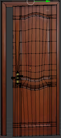 Bedroom door 3D Model