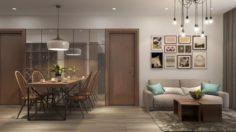 Apartment living tropical 3D Model