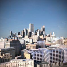 City Scape 08 3D Model