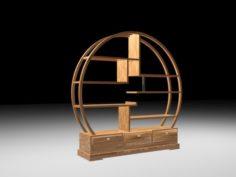 Circular Shelf 3D Model