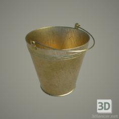 3D-Model  Bucket 8L, usual (enamel, aluminum … gold)