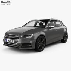 Audi S3 Sportback 2016 3D Model