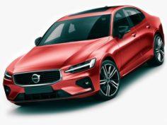 Volvo S60 2019 R-Design 3D Model