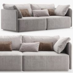 Sofa SMANIA Beverly 240 3D Model