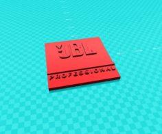 JBL PRO logo 3D Model