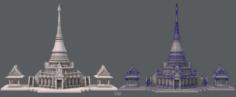Pagoda V01 3D Model
