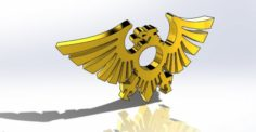 Eagle Pendant 3D Model