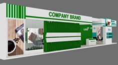 Exhibition stand 13 3D Model
