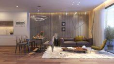 Apartment livingroom modern 3D Model