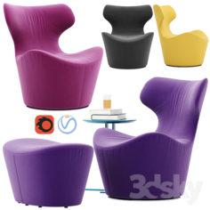 Piccola Papilio armchair                                      3D Model