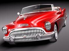 Buick Skylark Convertible 1953 3D Model