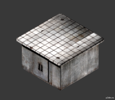 Lab Counter 3D Model