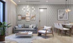 Apartment livingroom simple 3D Model