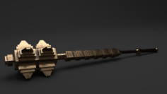 TEMPLE MACE 3D Model