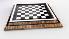 Chess C – Tablero de ajedrez C 3D Model