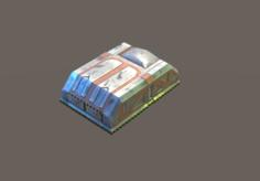 Sci-fi Backpack 3D Model