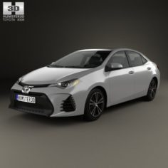 Toyota Corolla SE US 2013 3D Model