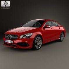 Mercedes-Benz CLA-Class C117 AMG 2016 3D Model