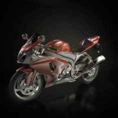 Motorcycles 08 3D Model