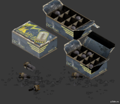 Vacuum Tube Box 3D Model