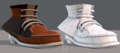 Shoes cartoonV19 3D Model