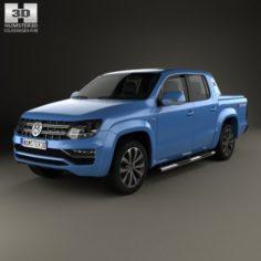 Volkswagen Amarok Crew Cab Aventura 2016 3D Model