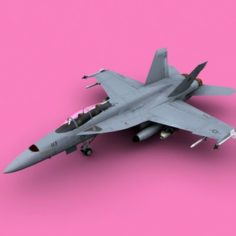 F-a18f 3D Model
