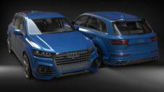 Audi SQ7 2017 3D Model