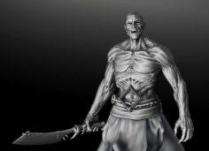 Zombie zbrush 3D Model
