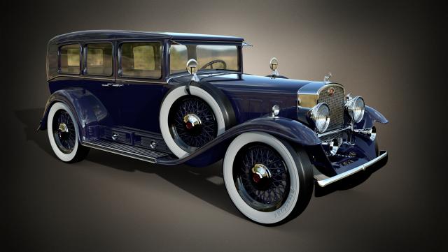 Cadillac v-16 3D Model