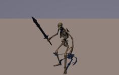 Skeleton Animated 3D Model
