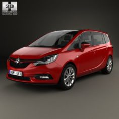 Vauxhall Zafira C Tourer 2016 3D Model