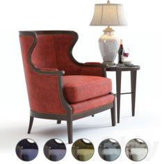 Baker Chair No. 476                                      3D Model