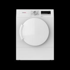 DRYER 7KG WTA74201IN VD WHITE 3D Model