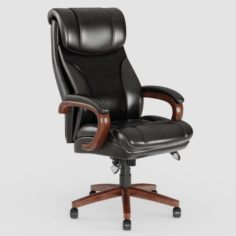 Leather Executive Office Chair VR – AR – low-poly 3D Model