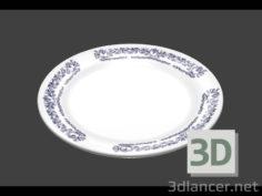 3D-Model  plate