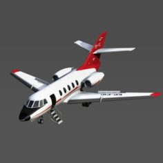 Iran Civil Aviation Falcon 20-200 3D Model
