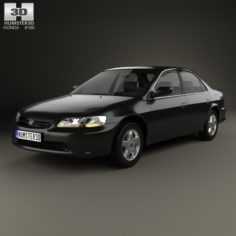 Honda Accord EX US 1998 3D Model