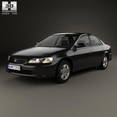 Honda Accord EX US 1998 3D Model