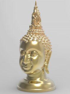 The Budda Head – Thai Pattern – 3D Print 3D Model