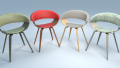 Chair6 for cafe 3D Model