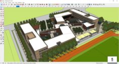 Sketchup school K9 3D Model