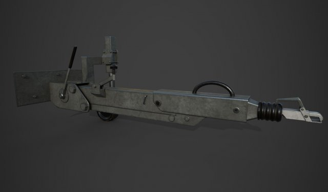Towing device 3D Model