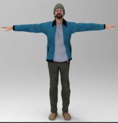 Johny Boy Free 3D Model