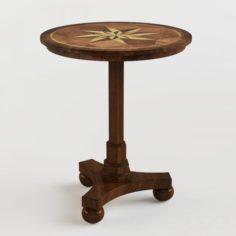 Masterpiece Antique Cherry Accent Table 3D Model