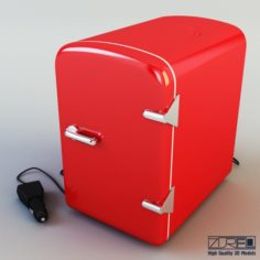 Mini fridge 3D Model