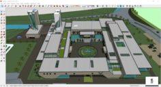 Sketchup Museum 139 3D Model