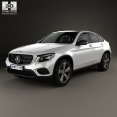 Mercedes-Benz GLC-Class C253 Coupe 2016 3D Model