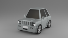 Low Poly Car model HD Free 3D Model